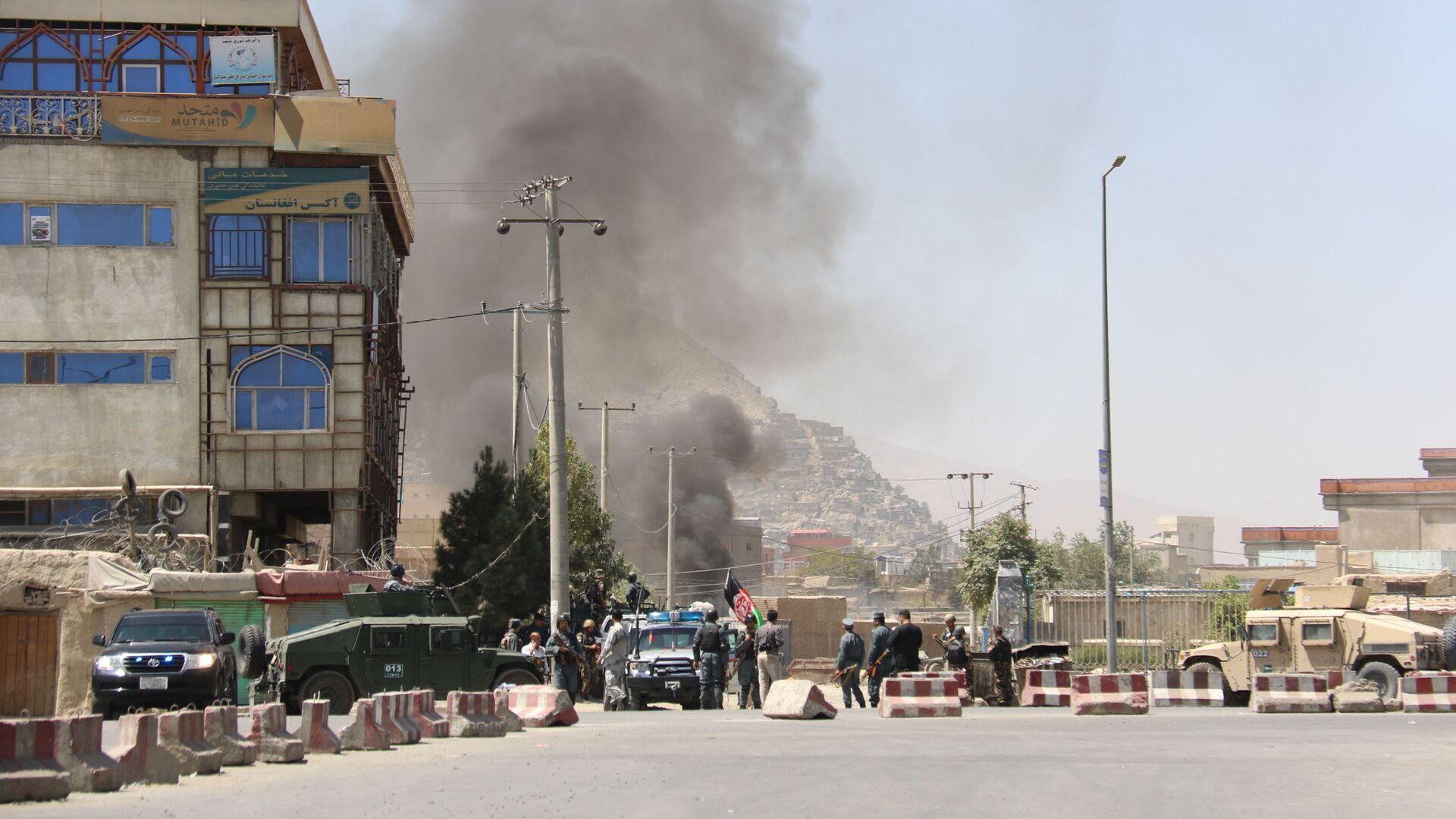 Atak na Pałac Prezydencki w Kabulu, Afganistan - Sputnik Polska, 1920, 01.09.2021
