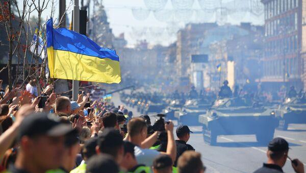 Parada wojskowa w Kijowie - Sputnik Polska