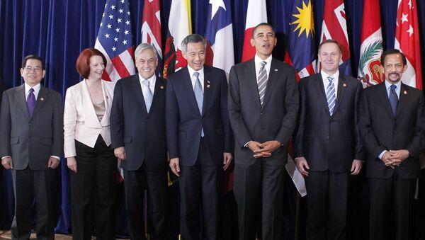 Spotkanie liderów krajów członkowskich Partnerstwa Transpacyficznego - Sputnik Polska