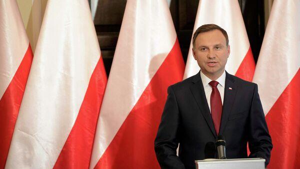 Prezydent Polski Andrzej Duda - Sputnik Polska