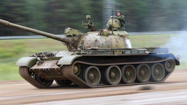 Czołg T-55 - Sputnik Polska