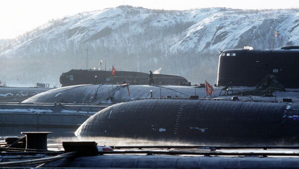 baza atomowych okrętów podwodnych - Sputnik Polska