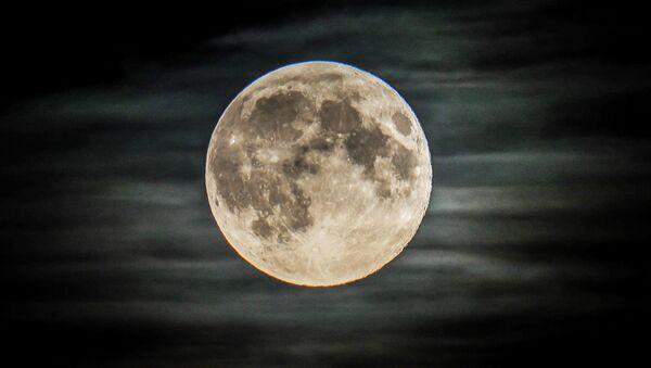 Pełnia księżyca w regionie moskiewskim - Sputnik Polska