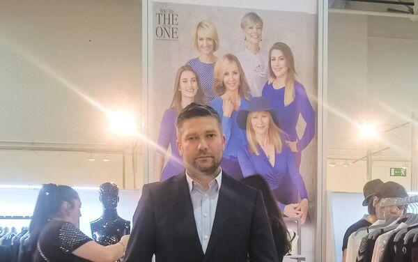 Krzysztof Kułakowski, dyrektor zarządzający polskiej firmy Pretty One - Sputnik Polska
