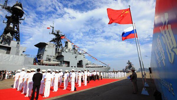 Współpraca chińsko-rosyjska - Sputnik Polska