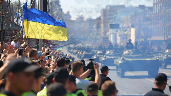 Defilada wojskowa w Kijowie z okazji Dnia Niezależności Ukrainy - Sputnik Polska