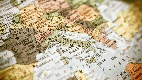 Mapa Europy - Sputnik Polska