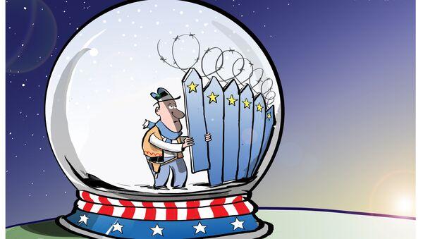 Estonia wzmacnia granice - Sputnik Polska