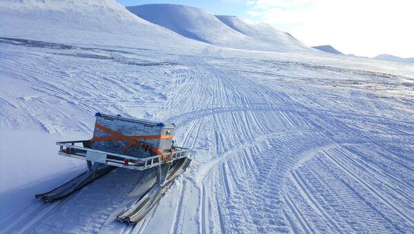 Skrzynka awaryjna, Spitsbergen - Sputnik Polska