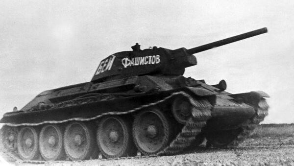 Radziecki średni czołg T-34-76 - Sputnik Polska
