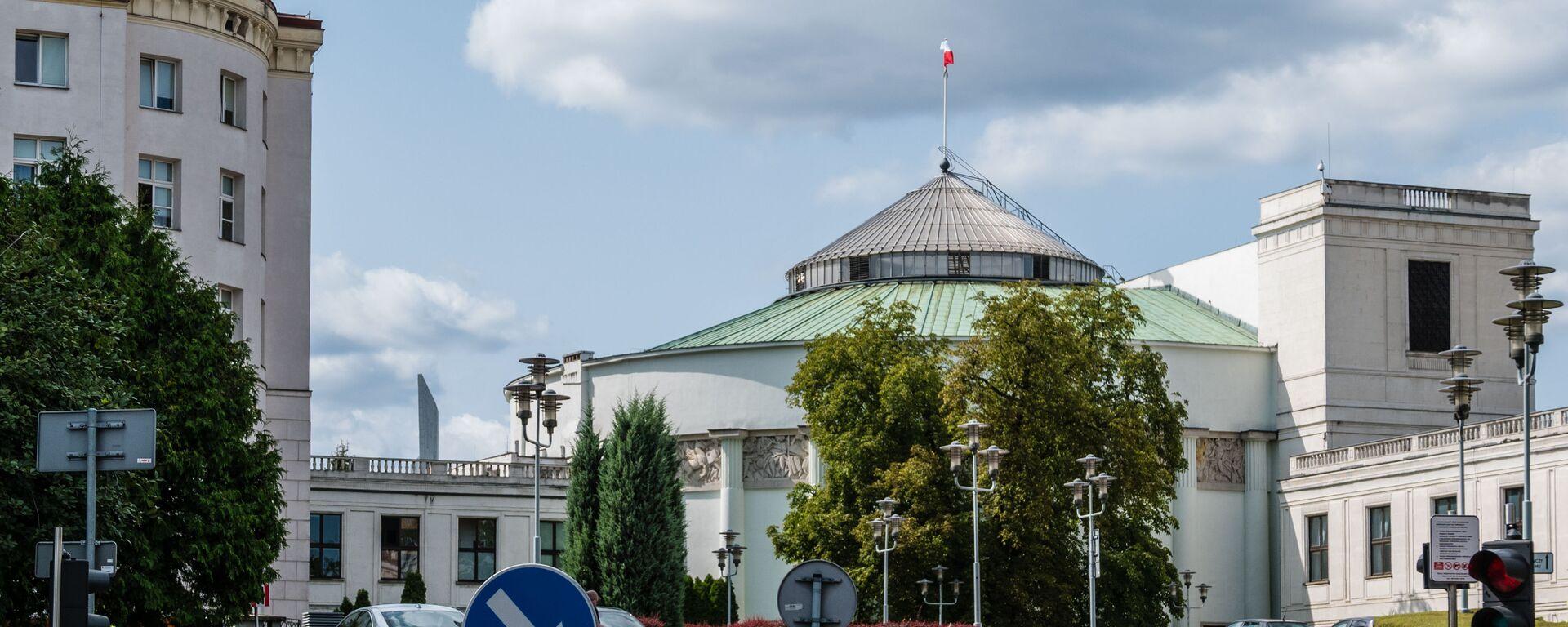 Warszawa. Sejm Rzeczypospolitej Polskiej - Sputnik Polska, 1920, 12.08.2021
