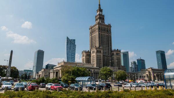 Pałac Kultury i Nauki. Warszawa. - Sputnik Polska