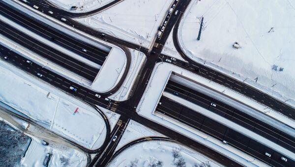 Węzły drogowe w Moskwie - Sputnik Polska