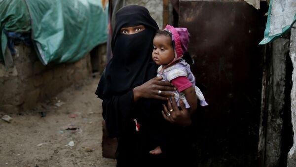 Uchodźcy w Jemenie - Sputnik Polska
