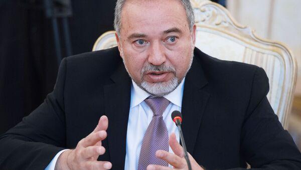Minister obrony Izraela Awigdor Lieberman - Sputnik Polska
