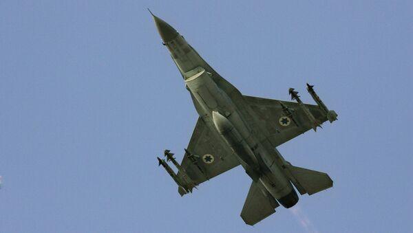 Izraelski F-16 - Sputnik Polska