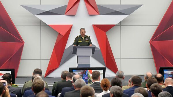 Minister Obrony Rosji Siergiej Szojgu - Sputnik Polska