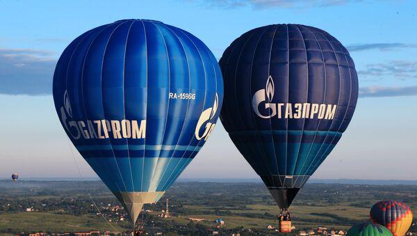 Balony z logo Gazpromu - Sputnik Polska