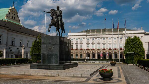 Pomnik księcia Józefa Poniatowskiego w Warszawie - Sputnik Polska