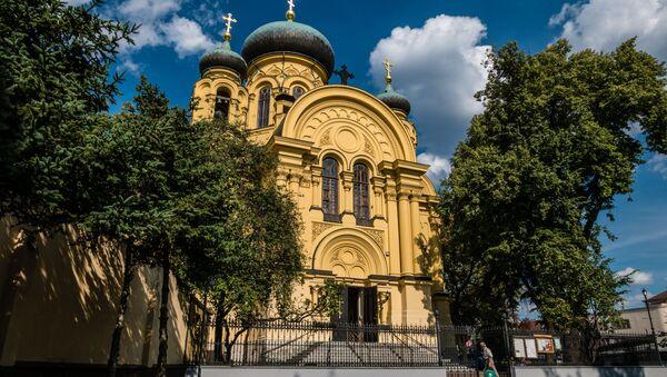 Cerkiew św. Marii Magdaleny. - Sputnik Polska