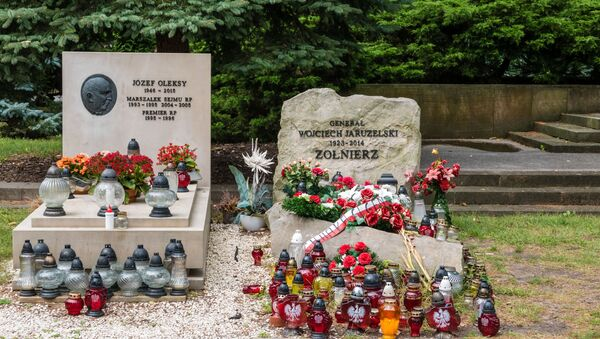 Cmentarz Wojskowy na Powązkach. Warszawa - Sputnik Polska