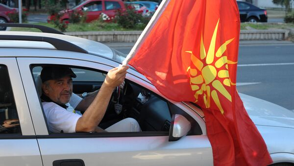 Referendum w Macedonii - Sputnik Polska