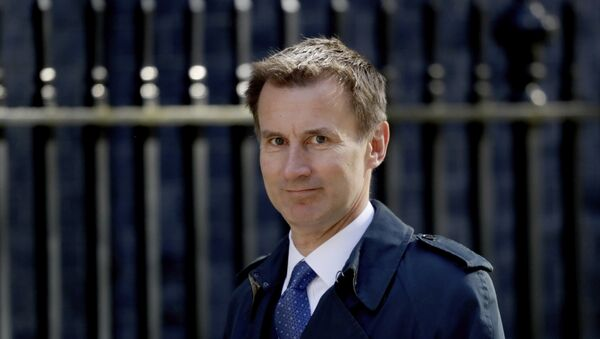 Britain's Health Secretary Jeremy Hunt arrives for a cabinet meeting at 10 Downing Street in London, Tuesday, May 1, 2018.  - Sputnik Polska