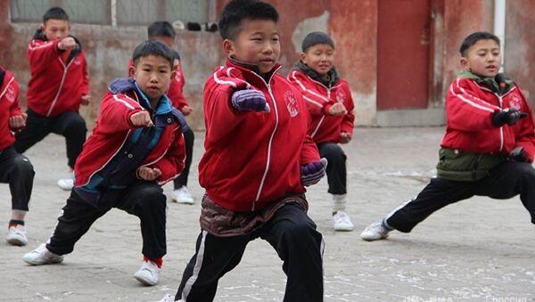 Szkoła Shaolin w Chinach - Sputnik Polska