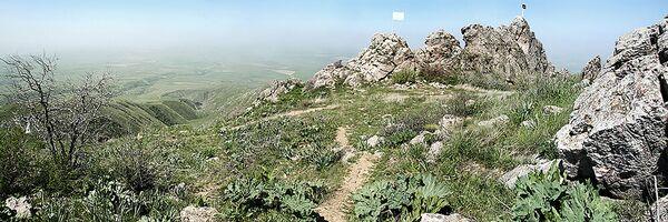 Góra Kazigurt w Kazachstanie - Sputnik Polska