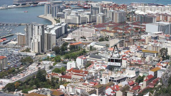 Widok na Gibraltar - Sputnik Polska