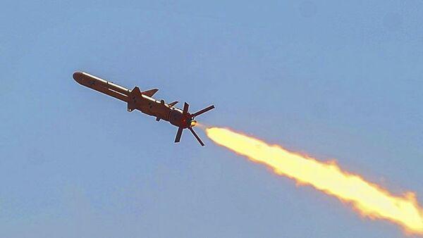 Testy ukraińskiego pocisku manewrującego - Sputnik Polska