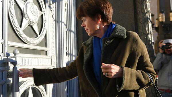 Ambasador Holandii w Moskwie Renée Jones-Bos przybyła do siedziby MSZ Rosji - Sputnik Polska