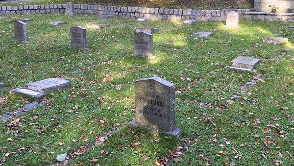 Cmentarz radzieckich żołnierzy zbezczeszczony w Jeleniej Górze - Sputnik Polska