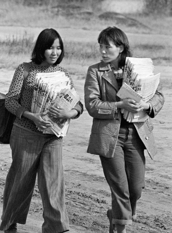 Listonoszki w Jakucji, 1978 rok - Sputnik Polska