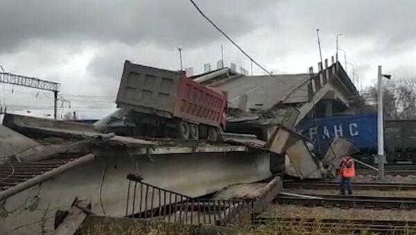 Zawalił się most na głównej trasie Kolei Transsyberyjskiej - Sputnik Polska