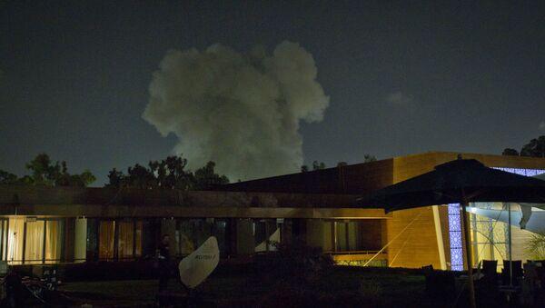 Bombardowanie Libii przez NATO (Trypolis) - Sputnik Polska