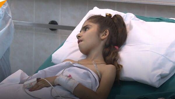 Dziewczynka z Aleppo - Sputnik Polska