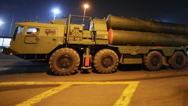 System przeciwlotniczy S-400 we Władywostoku - Sputnik Polska
