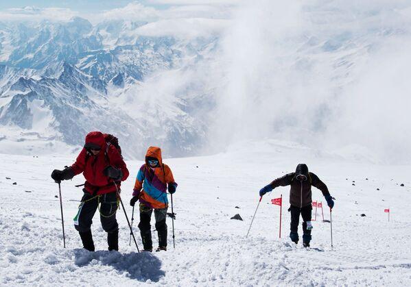 Elbrus – najwyższy szczyt Kaukazu - Sputnik Polska