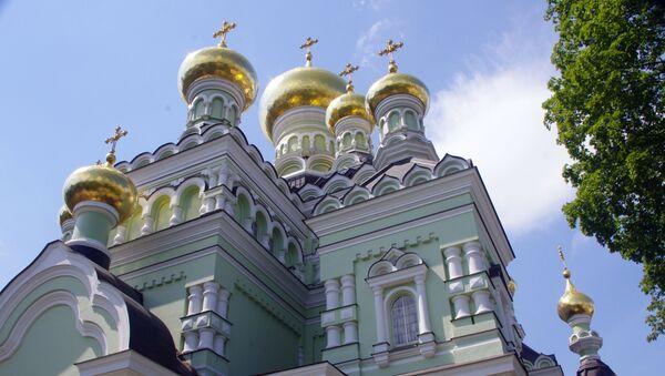 Monaster Opieki Matki Bożej w Kijowie - Sputnik Polska