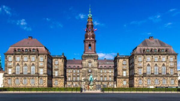 Christiansborg w Kopenhadze - Sputnik Polska
