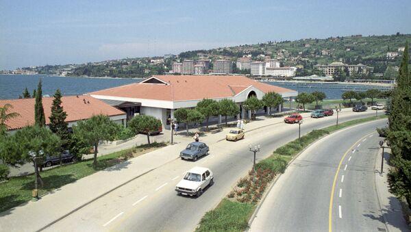 Wybrzeże Adriatyku. Piran, Jugosławia. 1988 r. - Sputnik Polska