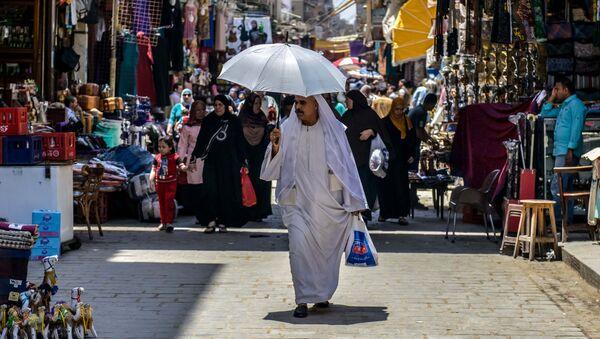 Rynek Chan al-Chalili w Kairze - Sputnik Polska