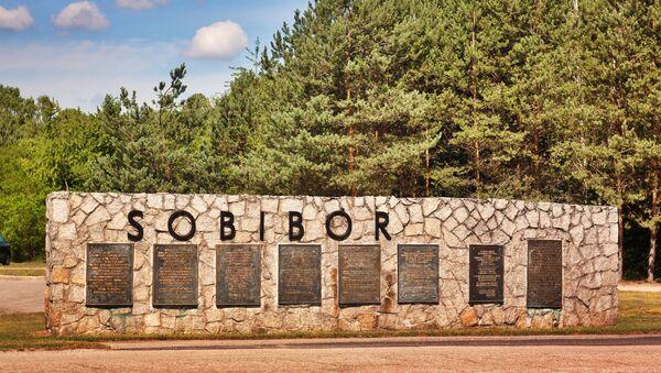 Pomnik w Sobiborze - Sputnik Polska