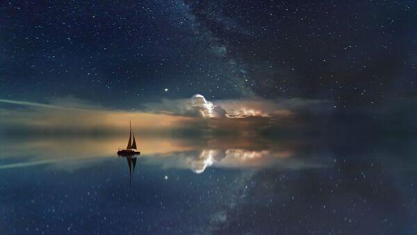 Droga Mleczna nad oceanem - Sputnik Polska