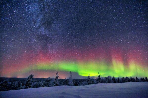 Droga Mleczna w Finlandii - Sputnik Polska