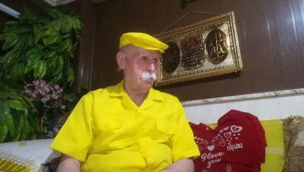 Abu Zakur, żółty człowiek - Sputnik Polska