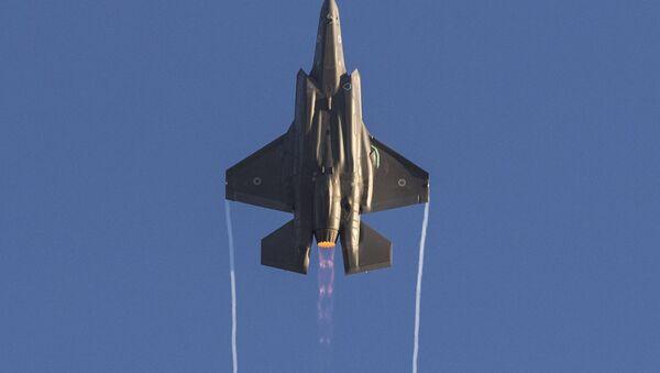 Myśliwce izraelskich sił powietrznych F-35 - Sputnik Polska
