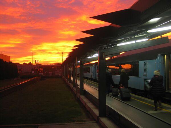Stacja kolejowa Christchurch w Nowej Zelandii - Sputnik Polska