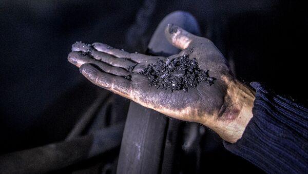Kopalnia Głubokaja w Szachtarśku w obwodzie donieckim - Sputnik Polska
